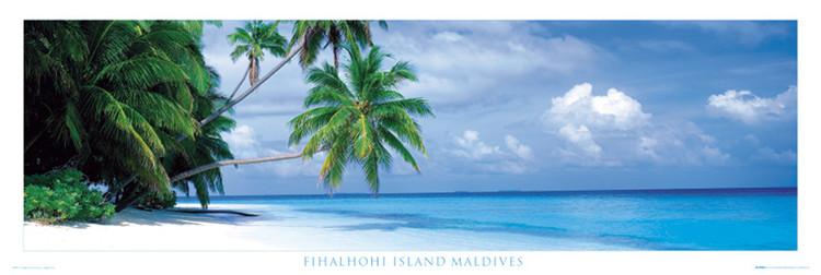 Maledives - fihalhohi island Affiche