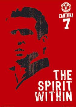 Manchester United - Cantona spirit Affiche