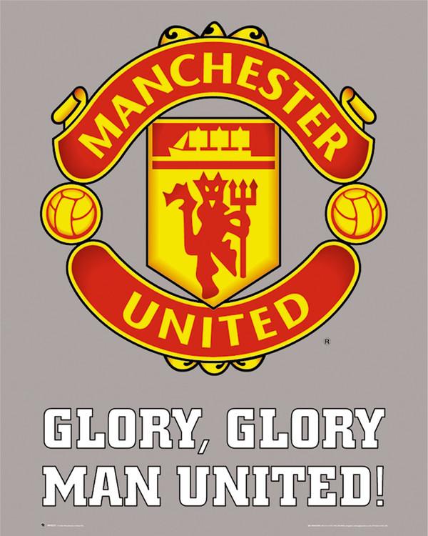 Manchester United - club crest Affiche