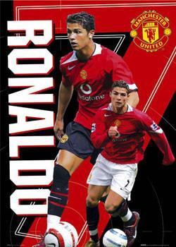Manchester United - Ronaldo 7 Affiche