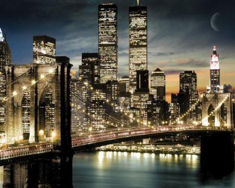 Manhattan lights Affiche