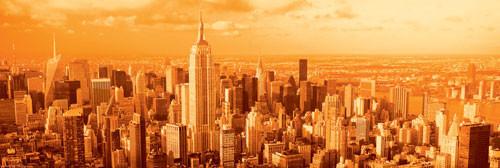 Manhattan - vanilla sky Affiche