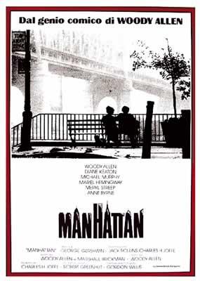 MANHATTAN - Woody Allen Poster