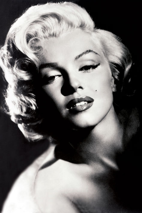 Marilyn Monroe - glamour Affiche