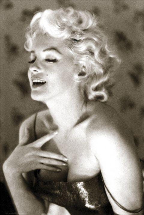 Marilyn Monroe - glow Affiche