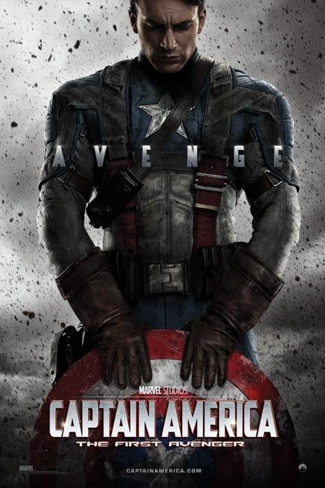 MARVEL - captain america teaser Affiche