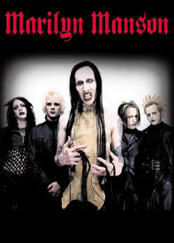 Marylin Manson - group Affiche