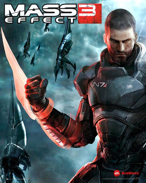 Mass effect 3 - reaper  Affiche