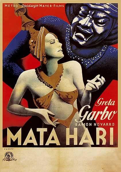 MATA HARI - Greta Garbo Affiche