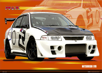 Max power - evo Poster