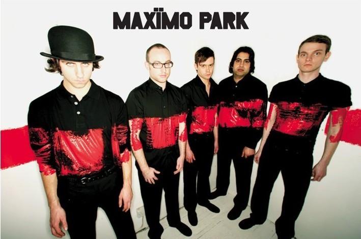 Maximo park - paint Affiche