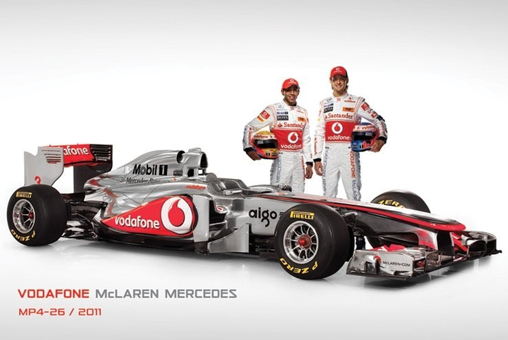 McLaren F1 MP4-26 - and drive Affiche