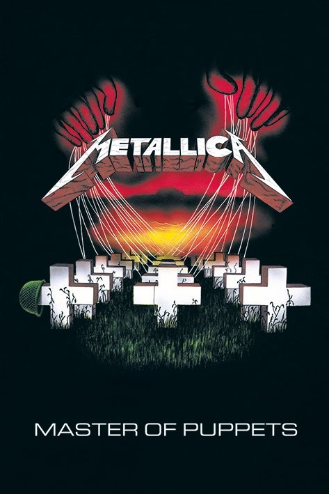 Metallica - master of puppets Affiche