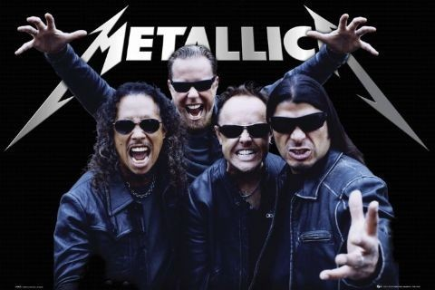 Metallica - tour Affiche