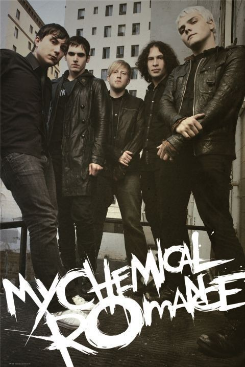 My chemical romance - fire Affiche