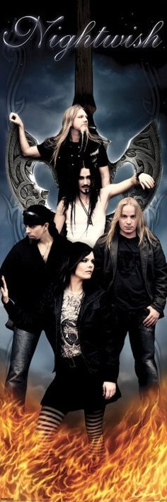 Nightwish - group Affiche