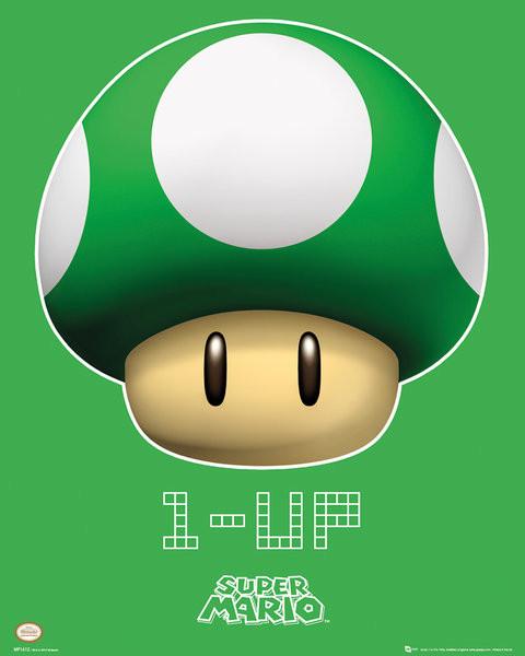 Nintendo - 1 UP Affiche