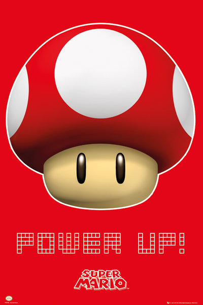 Nintendo - power up