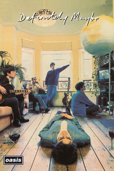 Oasis - definitely maybe Affiche