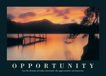 Opportunity Affiche