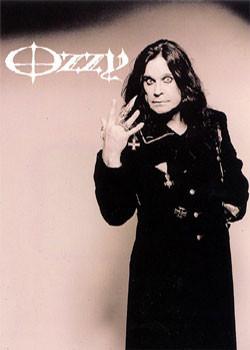 Ozzy Osbourne - hand Affiche