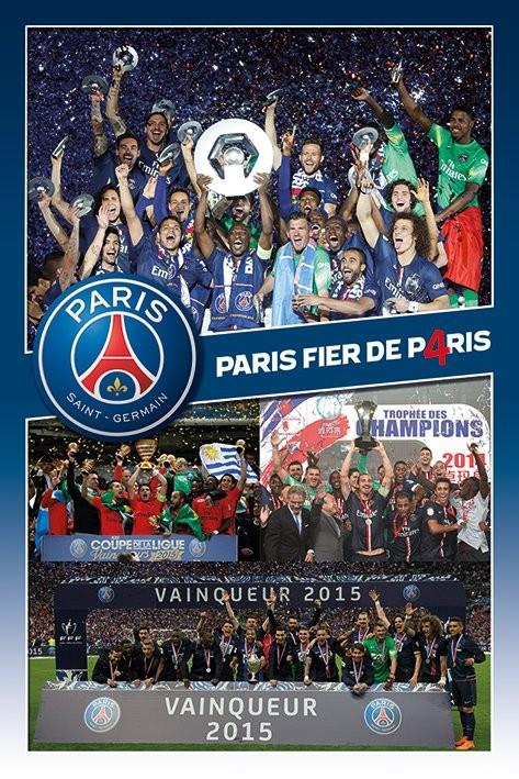 Paris Saint-Germain FC - Celebration  Affiche