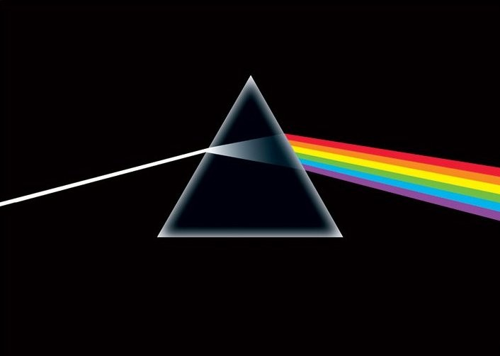 Pink Floyd - dark side Affiche