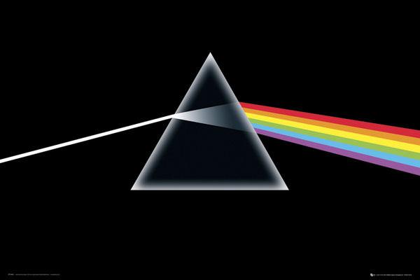 Pink Floyd - Dark Side of the Moon Affiche