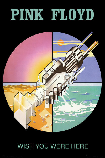 Pink Floyd - wish you were here 2 Affiche