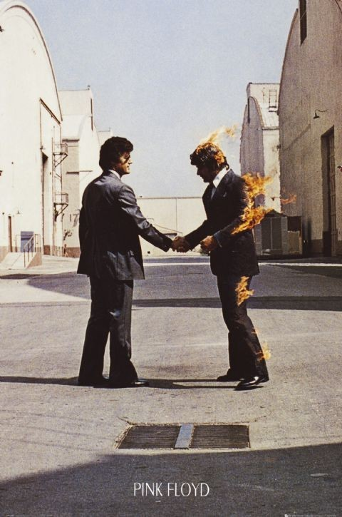 PINK FLOYD - wish you were here Affiche