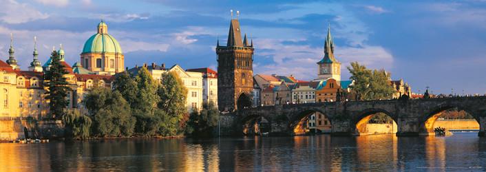 Prague – Prague bridges Affiche