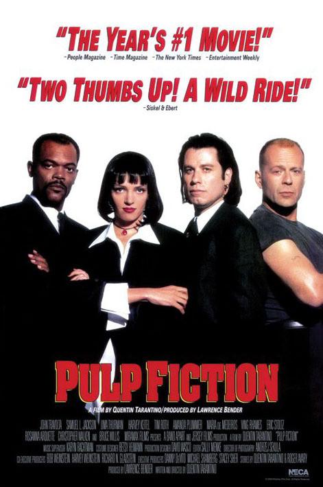 PULP FICTION - group Affiche