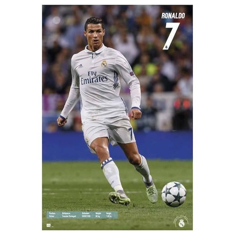 Real Madrid 2016/2017 - Ronaldo Accion Affiche