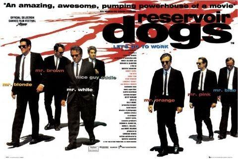 RESERVOIR DOGS - quad Affiche