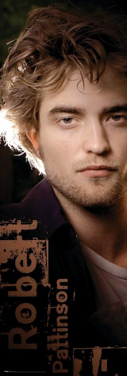 ROBERT PATTINSON - face Affiche