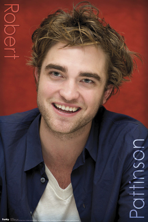 ROBERT PATTINSON - red Affiche