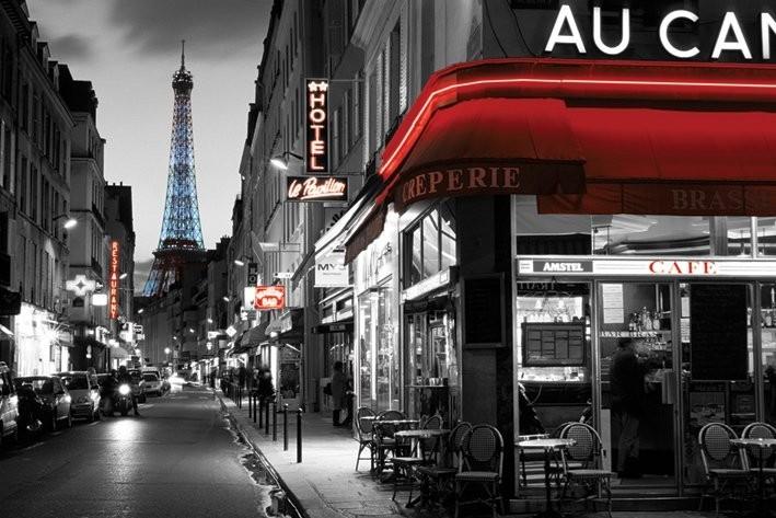 Rue Parisienne Affiche
