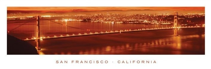 San Francisco - california Affiche