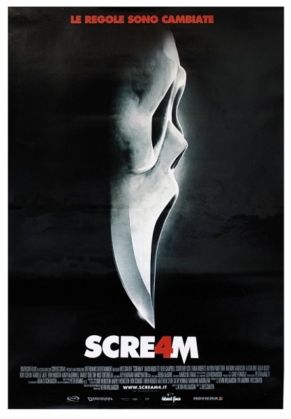 SCREAM 4 - teaser Affiche
