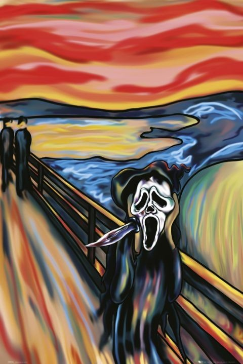 Scream the scream Affiche
