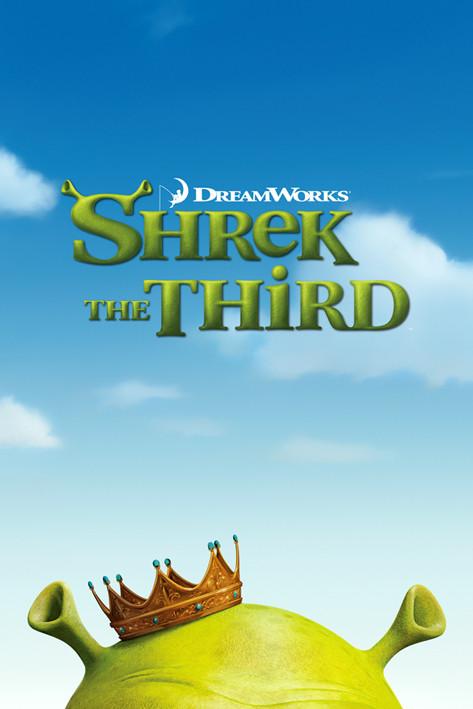 SHREK 3 - teaser Affiche