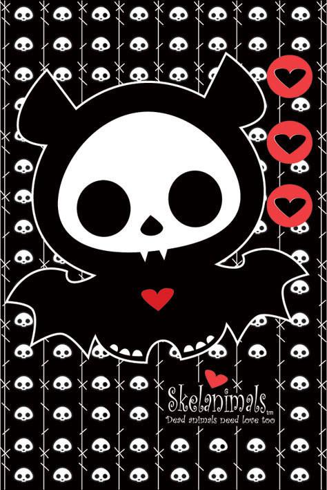 Skelanimals - diego the bat Affiche