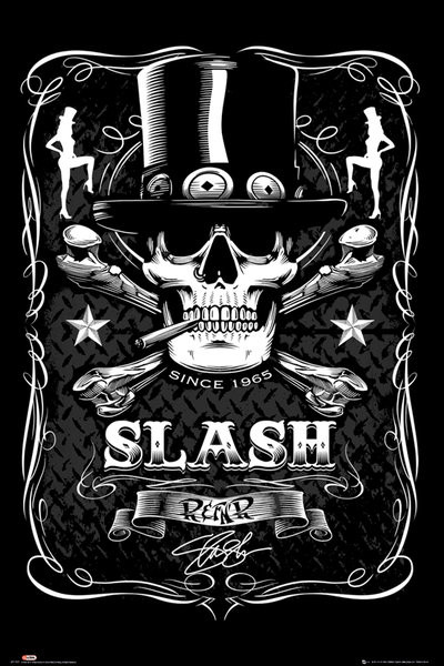 Slash - label Affiche