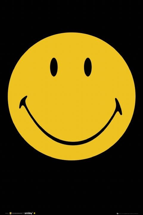 Smiley - face Affiche
