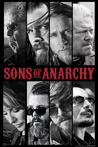 SONS OF ANARCHY - collage Affiche