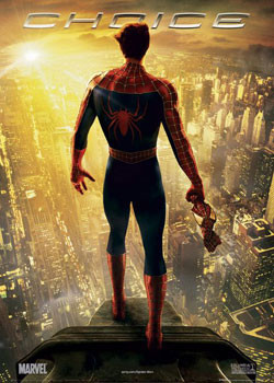 SPIDERMAN 2 - choice Affiche