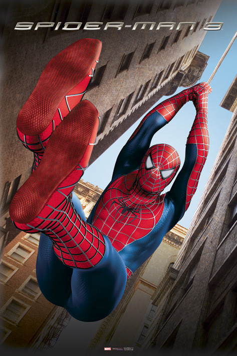 SPIDERMAN 3 - swing Affiche