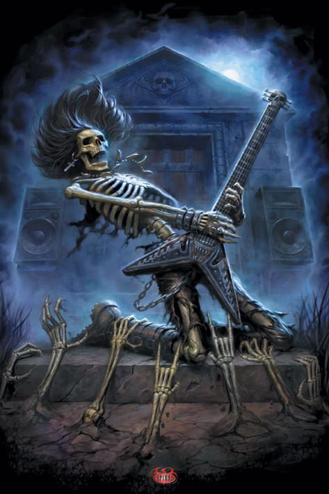 Spiral - death metal Affiche