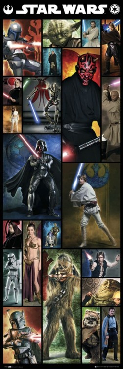 STAR WARS - compilation Poster