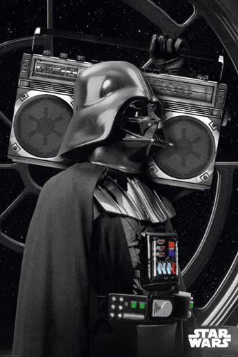 Star Wars - darth vader boombo Affiche